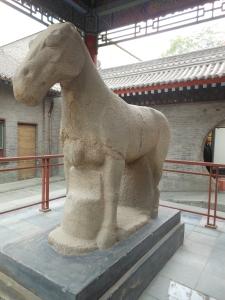 :Large concrete horse